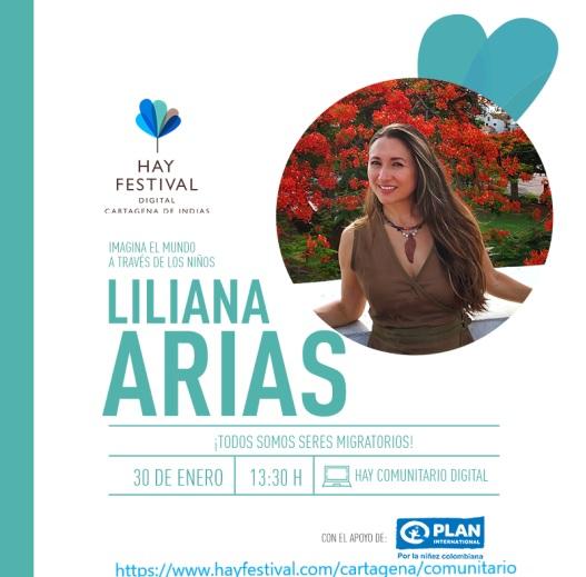 Conferencia virtual en el Hay Festival de Cartagena ¡Todos somos seres migratorios!